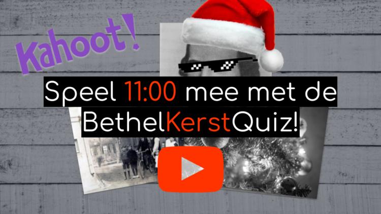 Bethel Kerst Quiz 2021